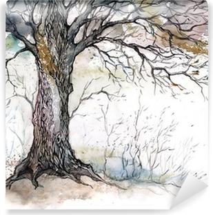 Vinylová Fototapeta Starý strom
