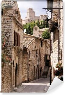 Vinylová Fototapeta Středověká Italská ulice