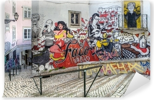 Fototapeta winylowa Street Art - Lizbona