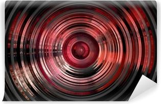 Fototapeta winylowa Streszczenie hipnotycznego 3D tle