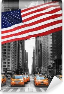 Vinylová Fototapeta Symboles New Yorku.