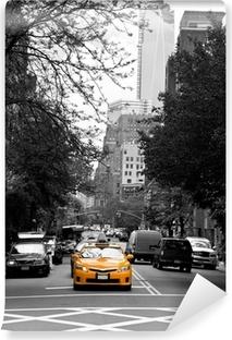 Vinylová Fototapeta Taxi na SOHO ulicích, New York, USA