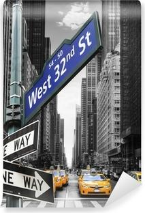 Vinylová Fototapeta Taxis à New York.