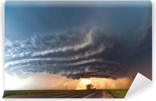 Vinylová Fototapeta Těžká bouřka v Great Plains