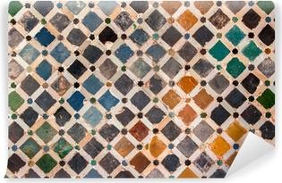 Vinylová Fototapeta Tile dekorace, Alhambra palác, Španělsko