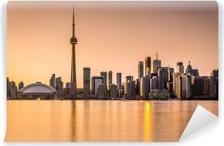 Vinylová Fototapeta Toronto Skyline při západu slunce