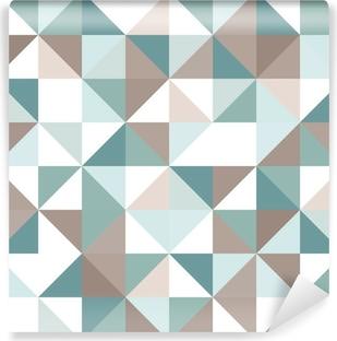 Vinylová Fototapeta Trojúhelník bezešvé vzor