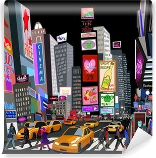 Vinylová Fototapeta Ulice v New Yorku