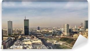 Vinylová Fototapeta VARŠAVA panorama