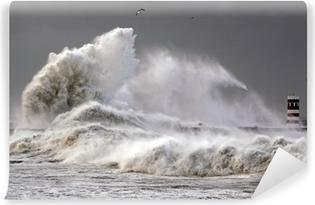 Vinylová Fototapeta Velké vlny