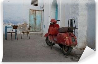 Vinylová Fototapeta Vespa, Kairouan, Tunisa