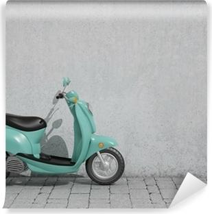 Vinylová Fototapeta Vinobraní skútr, pozadí