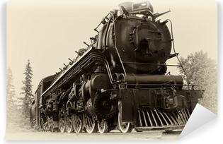 Vinylová Fototapeta Vintage styl fotografie Parní vlak