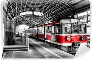 Vinylová Fototapeta Vlak