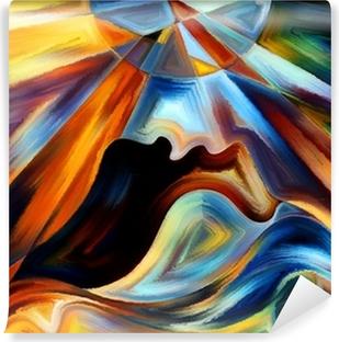 Vinylová Fototapeta Vnitřní Paint Abstrakce