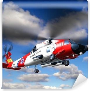 Vinylová Fototapeta Vrtulník pobřežní stráže Jayhawk