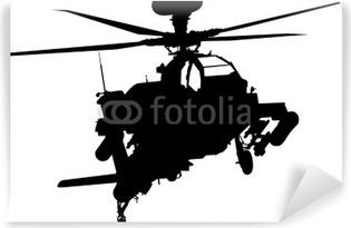 Vinylová Fototapeta Vrtulník