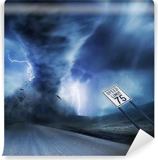 Vinylová Fototapeta Výkonný Storm a Tornado