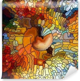 Vinylová Fototapeta Vyvíjející Stained Glass