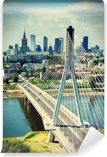 Vinylová Fototapeta Warsaw