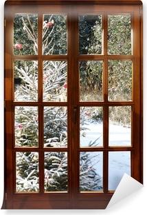 Fototapeta winylowa Weichnachten w śniegu