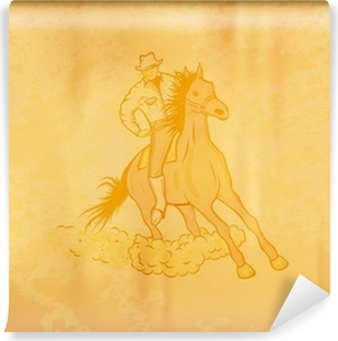 Fototapeta winylowa Western horse