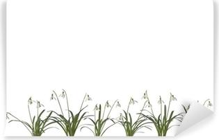 Plakat Wiersz Przebiśnieg Kwiaty Pixers żyjemy By Zmieniać