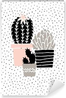 Fototapeta winylowa Wyciągnąć rękę Cactus Plakat
