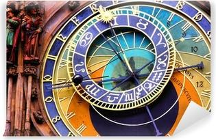 Fototapeta winylowa Zamknij się zegar astronomiczny w Pradze, Republika Czeska