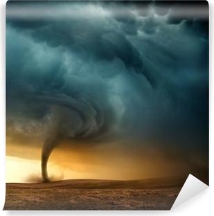 Vinylová Fototapeta Západ slunce Tornado