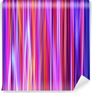 Vinylová Fototapeta Zářivé červené a modré barvy zářící pruhy.