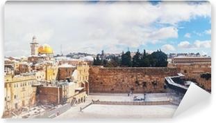 Vinylová Fototapeta Zeď nářků v Jeruzalémě, Izrael