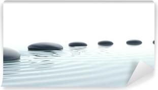 Vinylová Fototapeta Zen cesta kamenů v širokoúhlém formátu