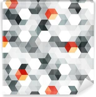 Fototapeta zmywalna Abstrakcyjne kostek szwu z mocą grunge