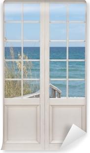 Fototapeta zmywalna Białe drzwi - Wydmy