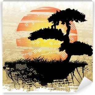 Fototapeta zmywalna Bonsai tle