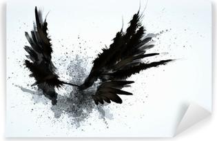 Fototapeta zmywalna Czarne skrzydła
