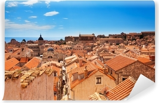 Fototapeta zmywalna Dubrovnik dachy