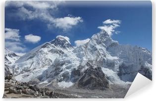 Fototapeta zmywalna Everest szczyty widok z Kala Pattar, Nepal