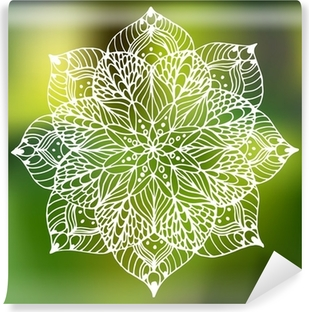 Fototapeta zmywalna Flower Mandala