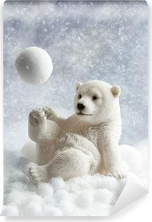Fototapeta zmywalna Niedźwiedź polarny dekoracji