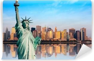 Fototapeta zmywalna Nowy Jork pomnik de la Liberte