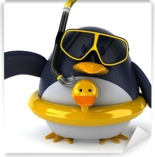 Fototapeta zmywalna Pingwin