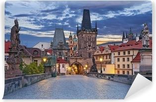 Fototapeta zmywalna Praga