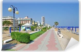 Fototapeta zmywalna Promenada w Lido di Jesolo na Riwierze Adriatyckiej
