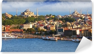 Fototapeta zmywalna Stambuł z wieży Galata, Turcja