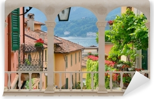 Fototapeta zmywalna Taras - Malownicze miasteczko we Włoszech