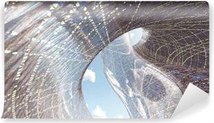 Fototapeta zmywalna Wspolczesna architektura