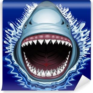 5fc186e3074 Obraz na plátně Žraločí čelisti útok • Pixers® • Žijeme pro změnu