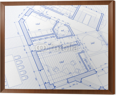 Architecture blueprint abstract house plan vector background architecture blueprint abstract house plan vector background framed canvas malvernweather Images